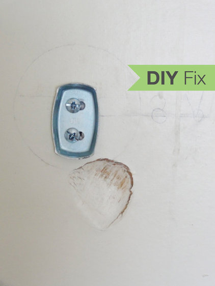 quick fix how to patch a drywall hole. Black Bedroom Furniture Sets. Home Design Ideas