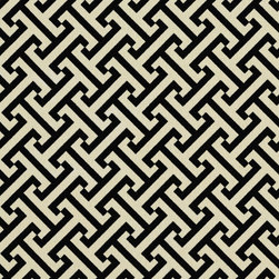 Black Off White Greek Key Geometric Outdoor Indoor Upholstery Fabric By The Yard - This upholstery fabric suitable for indoor and outdoor applications. The fabric is water, soil, mildew and fading resistant. It is also Scotchgarded for further protection. It is cleanable with warm water and soap. Uniquely Made in America!