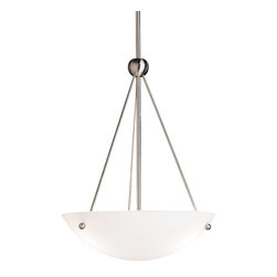 KICHLER - KICHLER 2752NI Transitional Inverted Pendant Light - KICHLER 2752NI Transitional Inverted Pendant Light