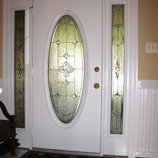 Traditional Front Doors by Decorative Glass Solutions