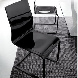 Rossetto - Rossetto Sledge Gray Dining Chairs - Set of 2 - 1992112020076 - Shop for Dining Chairs from Hayneedle.com! Slide into comfort with the Rossetto Sledge Gray Dining Chairs - Set of 2. Featuring an ultra-modern angular design and gravity-defying frame this set of fine dining chairs is constructed of durable acrylic with a sleek gray finish and glossy shine. Expertly crafted this set is designed and manufactured in Italy.About Rossetto USARossetto USA is the U.S. division of the Arros Group a leading manufacturer that exports Italian furniture style and design all over the world. Operating out of its warehouse in High Point N.C. since 1999 Rossetto provides complete contemporary and modern dining bedroom and occasional furniture programs that combine affordable price with innovative Italian design to satisfy the demands of their distinguished customers.