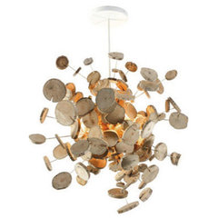 eclectic pendant lighting by Bleu Nature