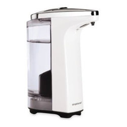 Simplehuman - simplehuman 8-Ounce Sensor Pump Soap Dispenser in White - simplehuman 8-Ounce Sensor Pump Soap Dispenser features a silicone valve to prevent drips and clogs. High-efficiency pump mechanism provides quick and precise dispensing.