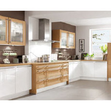 Modern Kitchen Cabinetry by Your German Kitchen in Boston