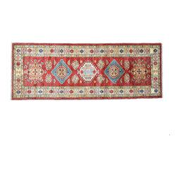 1800GetARug - Tribal Fine Kazak Runner Hand Knotted Rug Sh11179 - About Tribal & Geometric