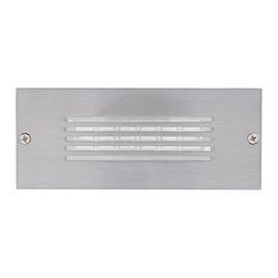 Jesco Lighting - Jesco HG-ST10A-12V-30 LED Recessed Wall Aisle and Step Lights - Jesco HG-ST10A-12V-30 LED Recessed Wall Aisle and Step Lights