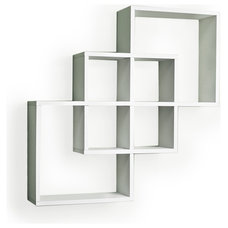 Contemporary Wall Shelves by Danya B