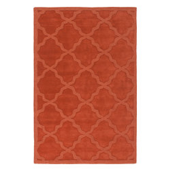 "Artistic Weavers - Artistic Weavers Central Park Abbey (Red) 5' x 7'6"" Rug - This Hand Woven rug would make a great addition to any room in the house. The plush feel and durability of this rug will make it a must for your home. Free Shipping - Quick Delivery - Satisfaction Guaranteed"