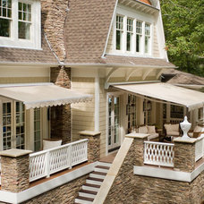Traditional Patio Retractable Awnings with Sunbrella Fabric