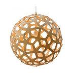 Coral Bamboo Suspension Light by David Trubridge -