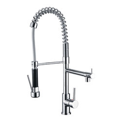 "AKDY - AKDY AK-Z5075 Brass Chrome Finish Kitchen Faucet, 19.6"" Height - AKDY presents to you our new line of products!"