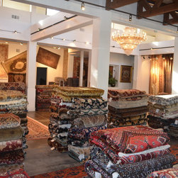 Inventory - Parvizian Rugs has moved to better service its customers and to accommodate our growing inventory of traditional, transitional and modern.