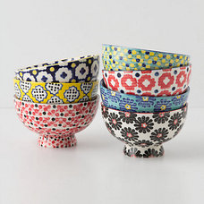 eclectic dinnerware by Anthropologie