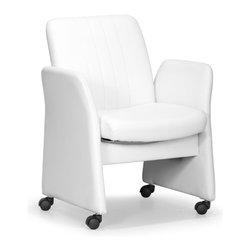 ZUO MODERN - Colonel Conference Chair White - Colonel Conference Chair White
