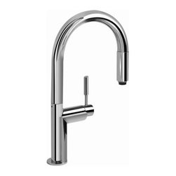 Graff - Graff - Oscar Single Lever Pull- Down Kitchen Faucet - G-4850-PC - Oscar Collection