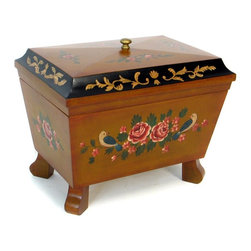 Wayborn - Wayborn Elegant Keepsake Jewelry Box With Mouldings - 14.5W x 12.5H in. - FT018 - Shop for Decorative Boxes from Hayneedle.com! About WaybornWayborn Furniture & Accessories Inc. is a leading importer and wholesaler of decorative home accessories located in City Of Industry Calif. In the early years the foundation of Wayborn's business was selling cormandel screens and black lacquer cabinets. Since then it has expanded its line to fulfill the needs of the ever-changing home furnishings trend. Its products are handmade from natural arts and artifacts and are manufactured and imported from China. Wayborn is committed to providing superior service to retailers while maximizing the value of the products it supplies.