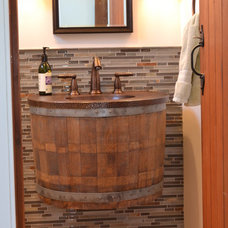 Eclectic Bathroom by Northwood Construction, Inc.