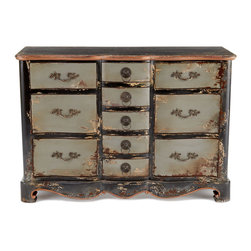 Spencer Chest - This dresser is big, old-world, Victorian and all glamorous. Check those ornate handles!