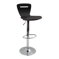 H2 Bar Stool Black