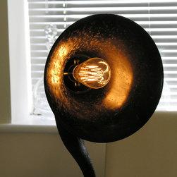 Speakerphone Vintage Light - The un-mistakable glow of an Edison Vintage Light Bulb.