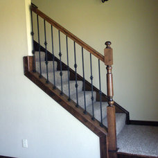 Traditional Staircase Stairways