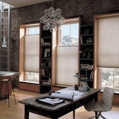 contemporary cellular shades by GetBlinds.com
