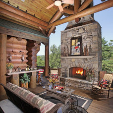 Traditional Patio by Modern Rustic Homes