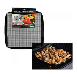 Camerons Products - PTFE Non-Stick Grilling Mesh Basket - - Ideal for use on grills, oven or even in the microwave!