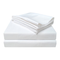 Heritage 3000 Crocodile Sheet Set - Twin - White - The new Heritage Series features updated highest quality 100% microfiber sheets. The microfibers are 100 times thinner than a strand of hair making the weave impenetrable to allergens and dust mites. These sheets feature a simple crocodile skin pattern and are comfortable as well as durable.