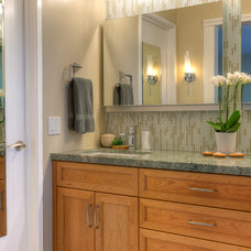 Contemporary Bathroom by Rebecca Ward Design