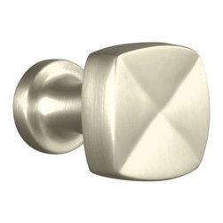"KOHLER - KOHLER K-16262-BN Margaux 1-1/4"" Knob - KOHLER K-16262-BN Margaux 1-1/4"" Knob in Vibrant Brushed Nickel"