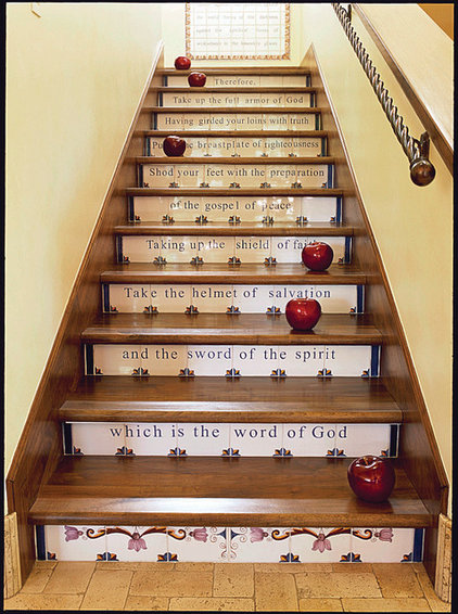 mediterranean staircase by Carson Poetzl, Inc.