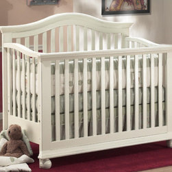 "Sorelle - Vista 4-in-1 Convertible Crib Set - A stylish, modern design 4 in 1 crib made of solid, sturdy construction with recessed hardware for your child's safety. The Vista 4 in 1 can be used as a crib, Daybed, Full-size bed with headboard on a metal bed frame, or Full-size bed with headboard and footboard using optional wooden Adult Rails. The crib can also use an optional Toddler Bed rail when in Daybed mode. The crib grows with your child; seeing them through birth to college. It is the perfect match for the Vista Series of Case Pieces. Features: -Vista collection. -Converts to full size bed with additional purchase of 215 adult rails. Dimensions: -57"" H x 31"" W x 48"" D, 100 lbs."