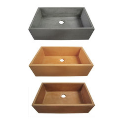"""Alfi Concrete Kitchen Sinks - APPLY COUPON CODE """"EDHOUZ50"""" AT CHECKOUT. JUST OUR WAY OF SAYING THANKS."""