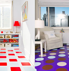 modern vinyl flooring by Modularity Tiles