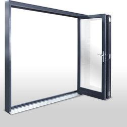 Breeze Panel Folding Glass Wall - Breeze Panel Folding Glass Wall from Zola Windows