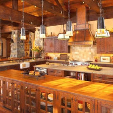 A Guest-Friendly Spec Home in Montana - Timber Home Living