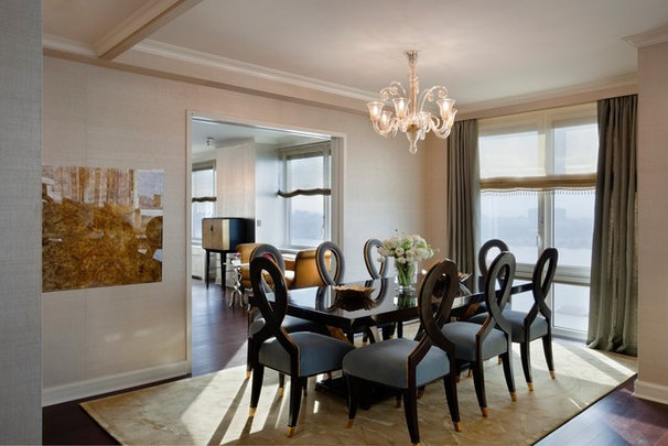Contemporary Dining Room by Bankston May Associates