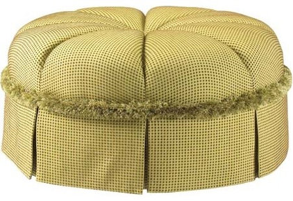 traditional ottomans and cubes by French Heritage