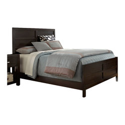 Broyhill - Broyhill Primo Vista Panel Bed in Black Stain - Broyhill - Beds - 4453PanelBed - About This Product:
