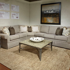 Traditional Sectional Sofas by Huntington House Furniture