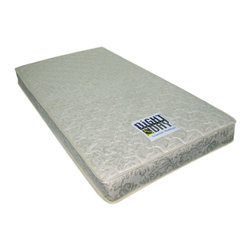 Night And Day Furniture - Night And Day Furniture Home Bedroom Twin Somnus Mattress - Twin Juvenille Innerspring Mattress that is vacuum-packed in a smal box for easy/inexpensive shipping.