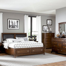 Traditional Bedroom Furniture Sets by National Furniture Supply