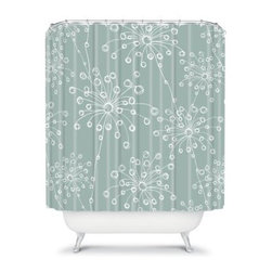 DENY Designs Rachael Taylor Quirky Motifs Shower Curtain - The DENY Designs Rachael Taylor Quirky Motifs Shower Curtain brings a touch of class to the bathroom without being stuffy. With an eclectic designer print, this shower curtain will fit perfectly in any bathroom. This American-made shower curtain takes a step in a new direction unlike you have ever seen.About DENY DesignsDenver, Colorado based DENY Designs is a modern home furnishings company that believes in doing things differently. DENY encourages customers to make a personal statement with personal images or by selecting from the extensive gallery. The coolest part is that each purchase gives the super talented artists part of the proceeds. That allows DENY to support art communities all over the world while also spreading the creative love! Each DENY piece is custom created as it's ordered, instead of being held in a warehouse. A dye printing process is used to ensure colorfastness and durability that make these true heirloom pieces. From custom furniture pieces to textiles, everything made is unique and distinctively DENY.