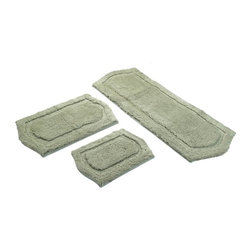 Chesapeake - Chesapeake 3 pc. Paradise Memory Foam Bath Rug Set - 43260 - Shop for Mats and Rugs from Hayneedle.com! About Chesapeake Merchandising Inc.Dan Arora is a second-generation entrepreneur with a family background in quality textiles. He established Chesapeake Merchandising in 1995 to provide customers with sumptuous bath accent and area rugs as well as luxurious table linens and bedspreads. Chesapeake has a liaison office in India with a team of professionals committed to finding quality stylish textiles. This team keeps close watch on sourcing the finest raw materials exercising control over dyeing and weaving and completing the finishing stages to ensure there are no compromises when it comes to quality.