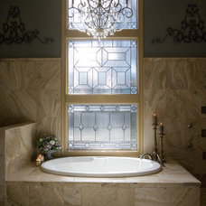 Traditional Bathroom by BeeTree Homes