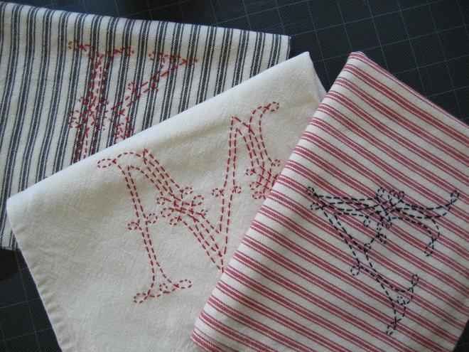 Traditional Towels by chezsucrechez.bigcartel.com