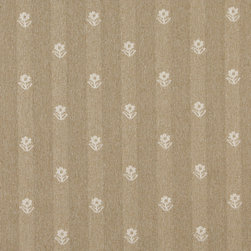 Gold And Ivory Flowers Country Tweed Upholstery Fabric By The Yard - This upholstery fabric has the look and feel of a cabin or lodge. This fabric is rated heavy duty, and is great for all indoor upholstery uses.