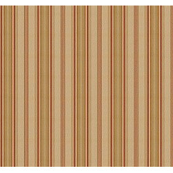 Pondview Ticking Stripe in Canvas - The 100% cotton stripe fabric Pondview Ticking Stripe in Canvas