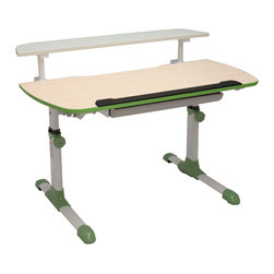 "PostureDesks - Reo-Smart Adjustable Height ""Tilting Desk 104"", Green - Why does your child need a Reo-Smart desk?"